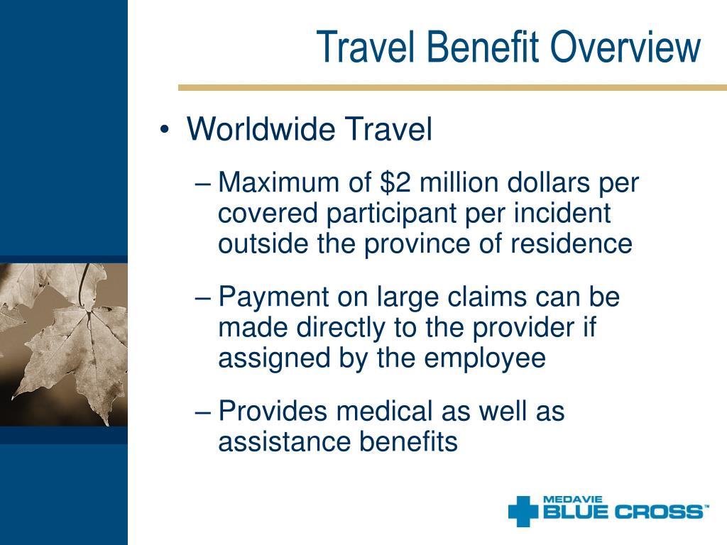 Travel Benefit Overview