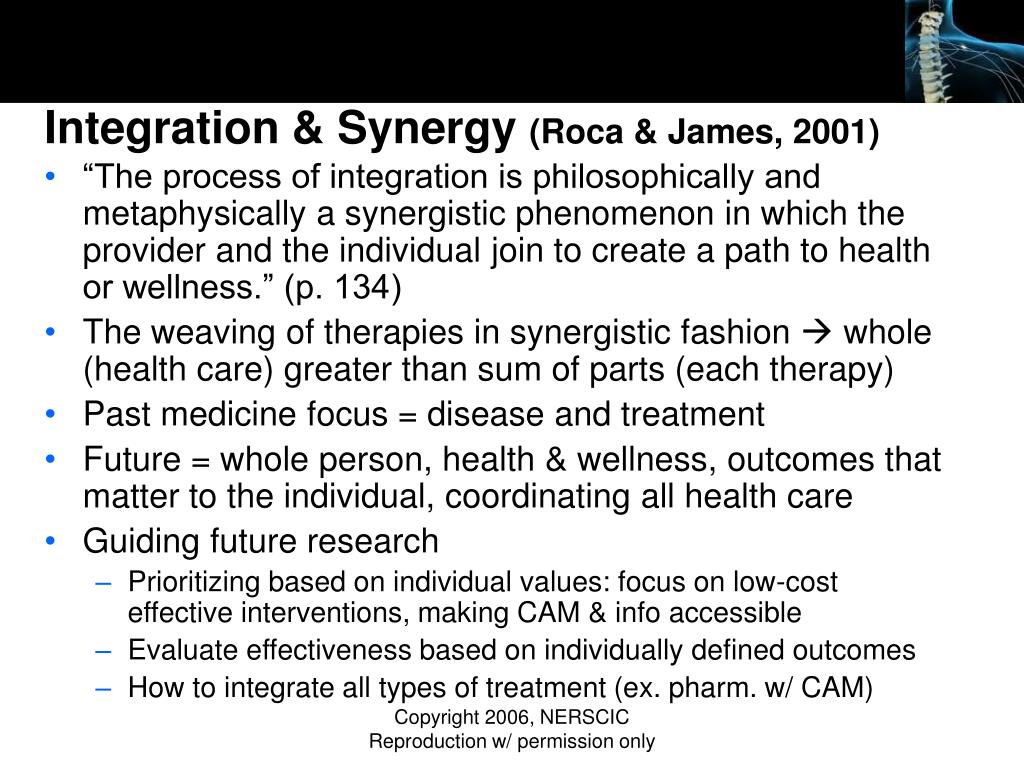 Integration & Synergy