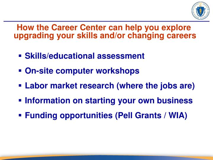 How the Career Center can help you explore