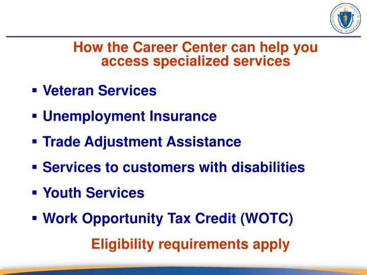 How the Career Center can help you