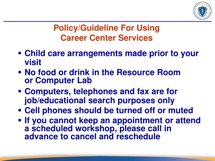 Policy/Guideline For Using