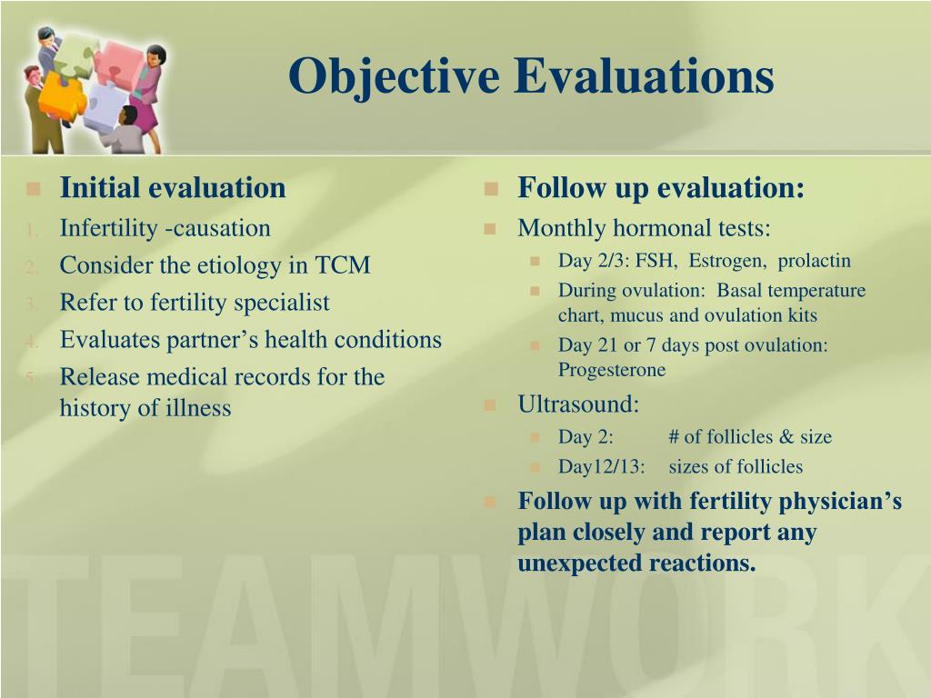 Objective Evaluations