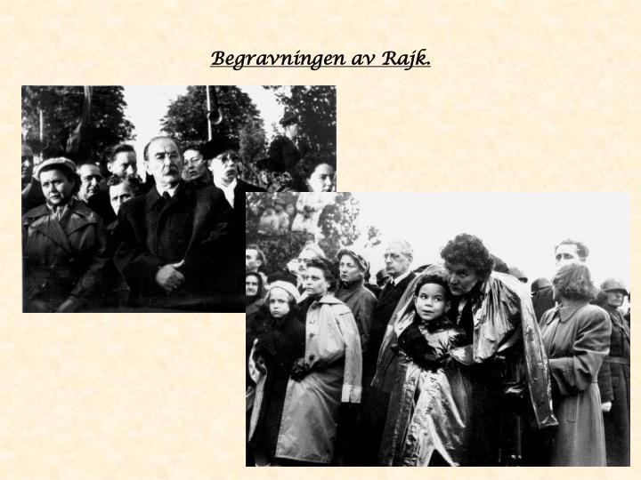Begravningen av Rajk.