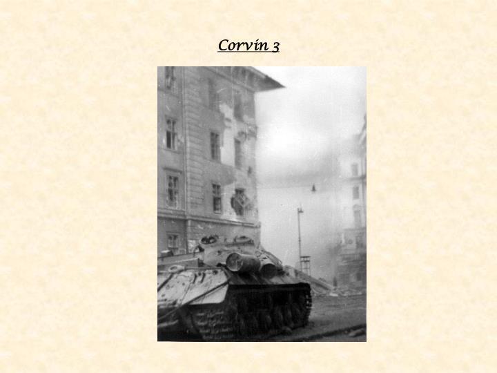 Corvin 3