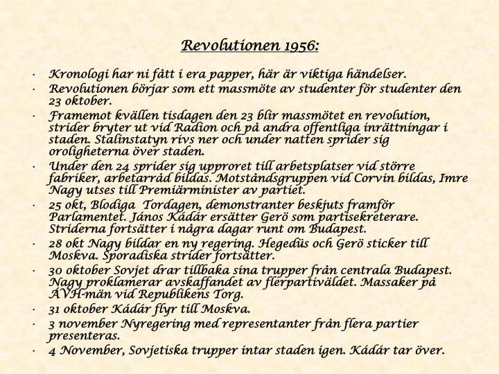 Revolutionen 1956: