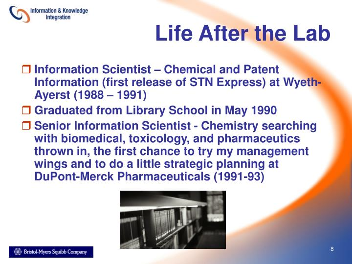 Life After the Lab