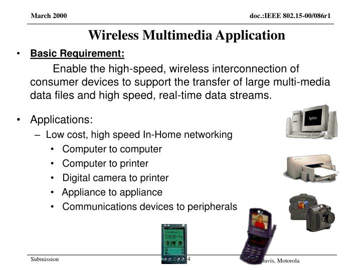 Wireless Multimedia Application
