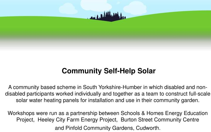 Community Self-Help Solar