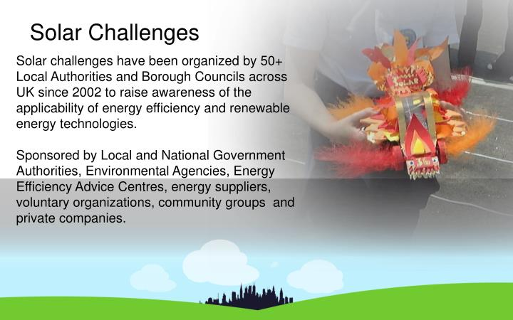 Solar Challenges
