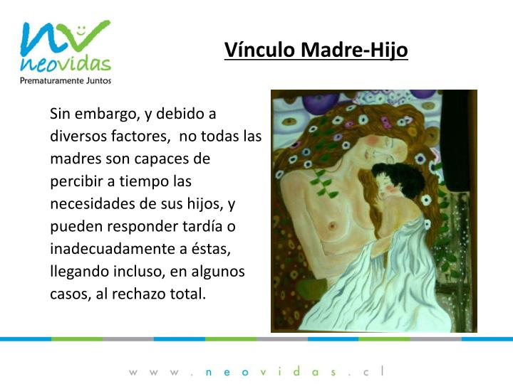 Vínculo Madre-Hijo