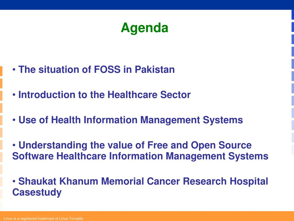 The situation of FOSS in Pakistan