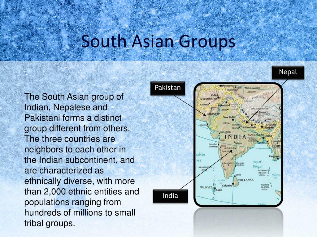 South Asian Groups