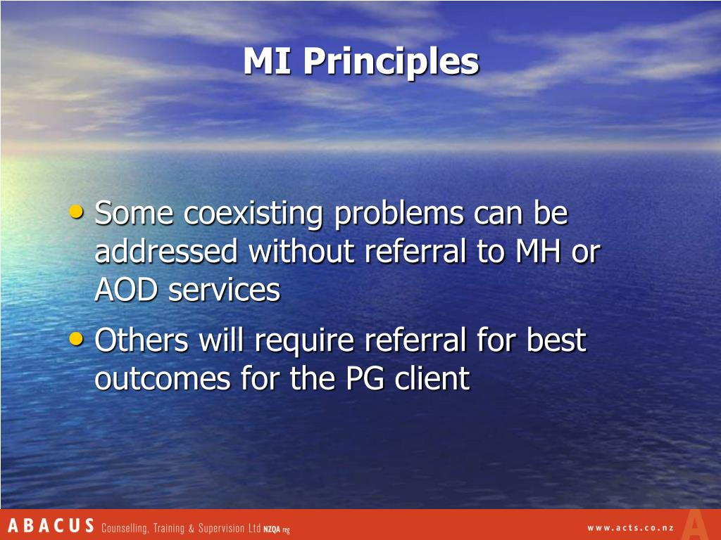 MI Principles