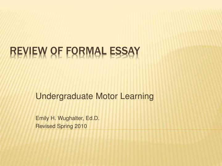 formal essay format formal letter format pdf top essay writing  2 jul 2015 tips for academic writing and other formal writing overall structure the standard format