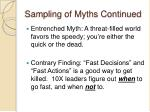 sampling of myths continued1