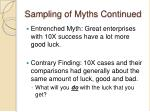 sampling of myths continued3