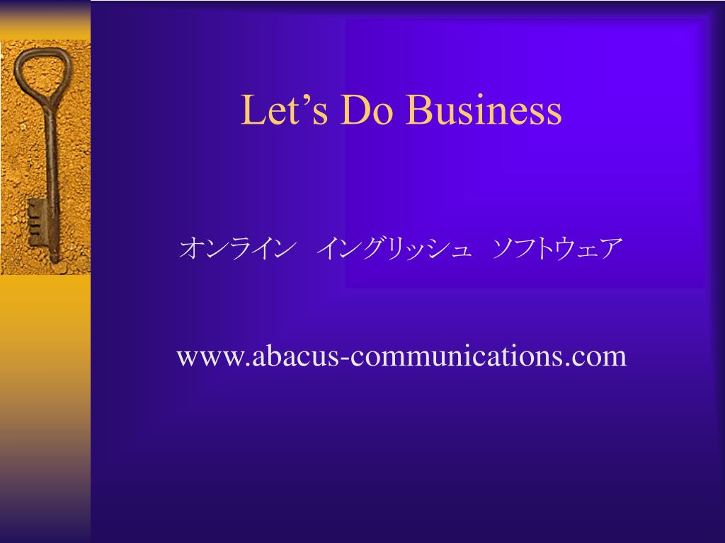 Let's Do Business