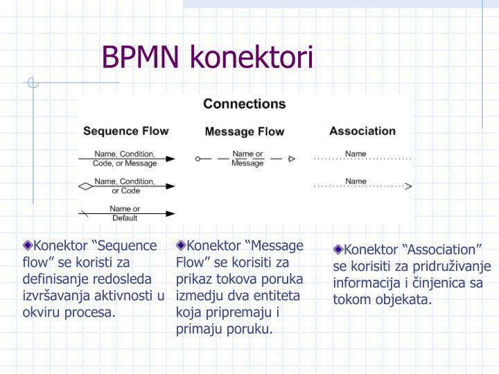 BPMN konektori