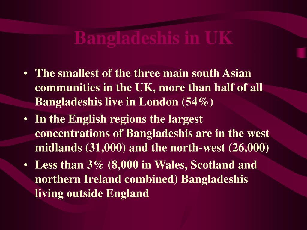 Bangladeshis in UK