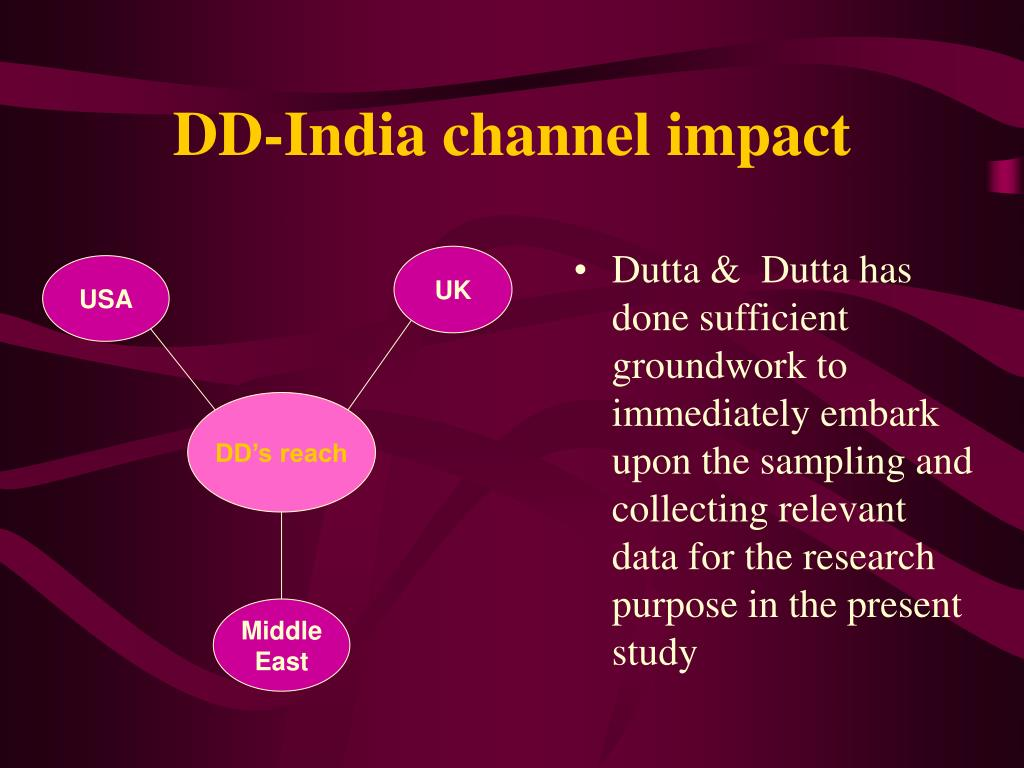 DD-India channel impact