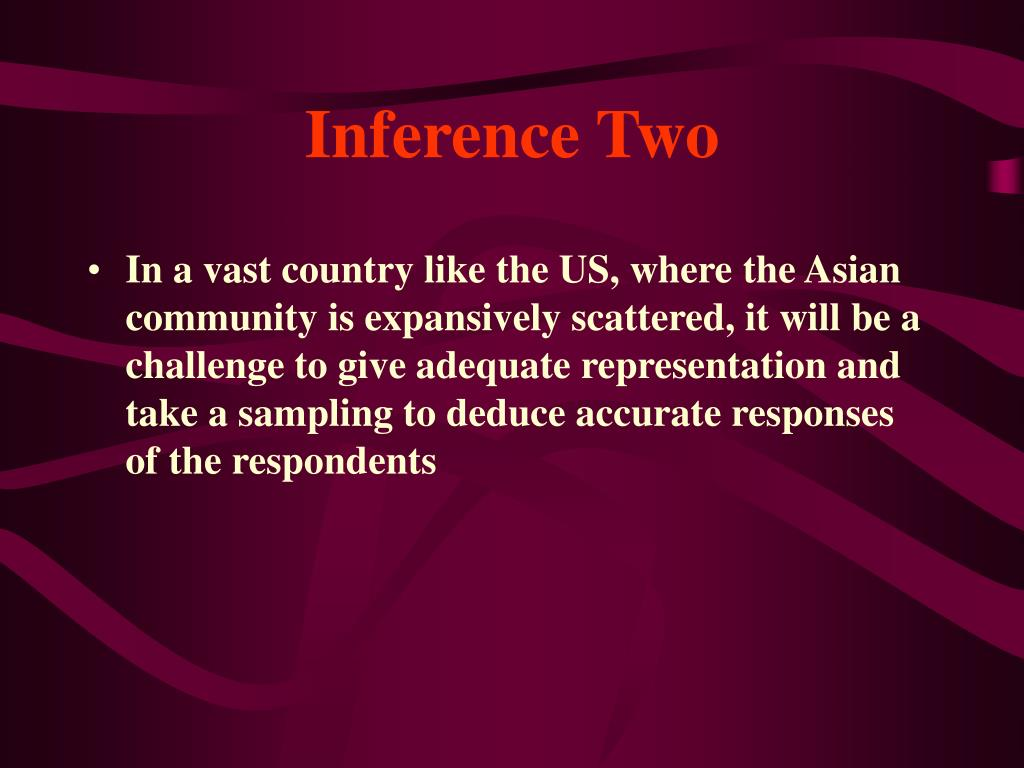 Inference Two