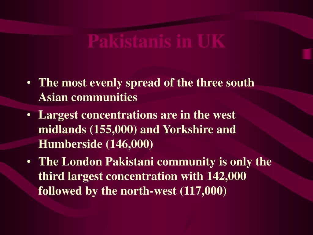 Pakistanis in UK