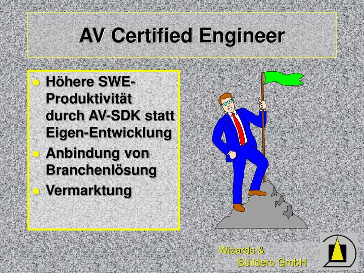 AV Certified Engineer