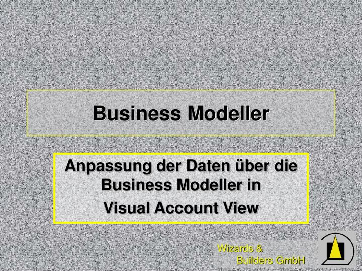 Business Modeller