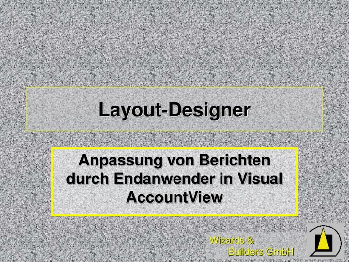 Layout-Designer