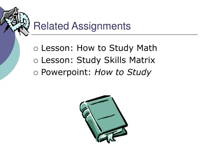Related Assignments