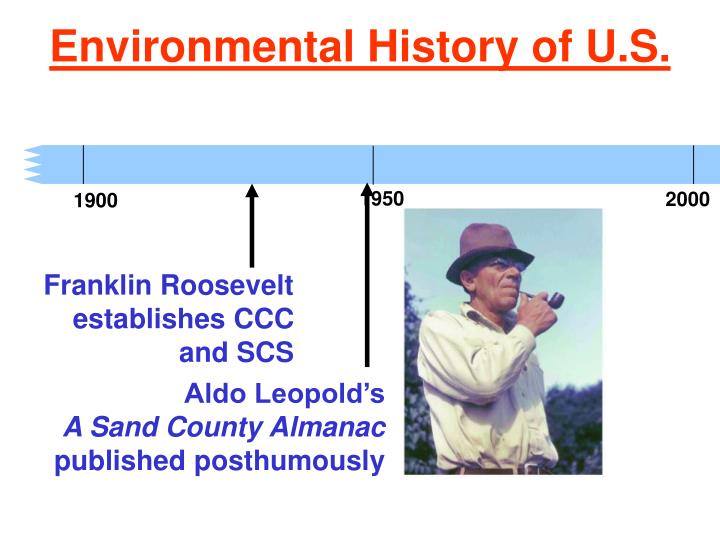 the environmental impact of societal actions in a sand county almanac Choose from 500 different sets of environment and society flashcards on quizlet  creator of sand county almanac - first to write philosophy of .