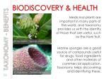 biodiscovery health