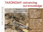 taxonomy advancing our knowledge