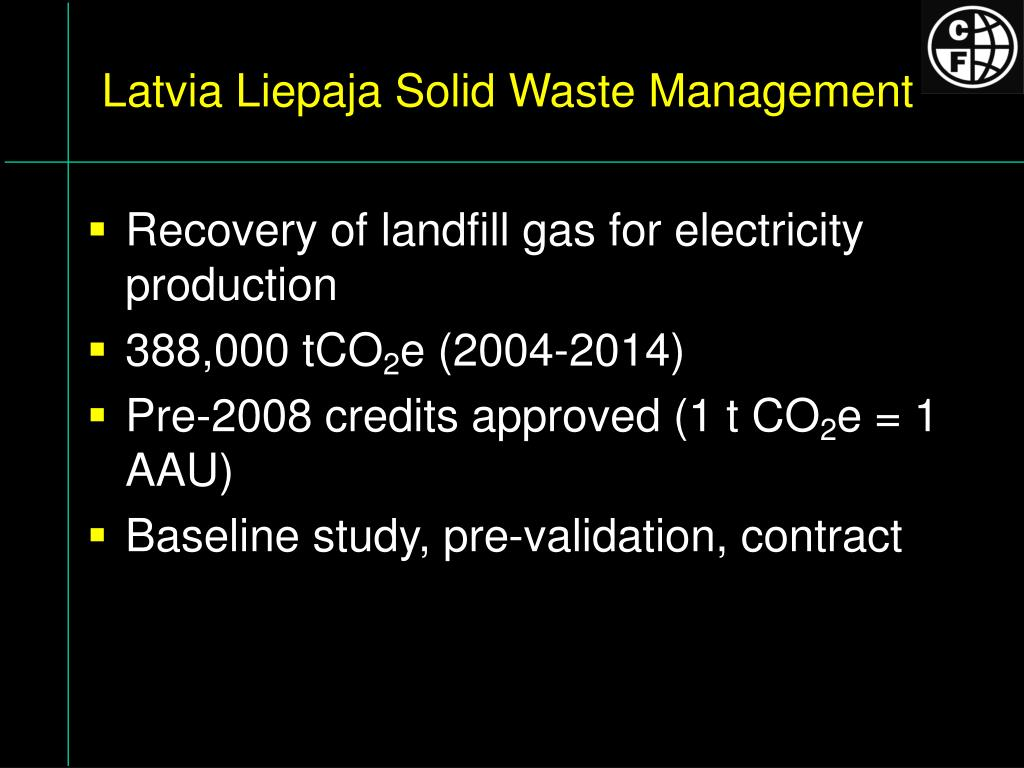 Latvia Liepaja Solid Waste Management