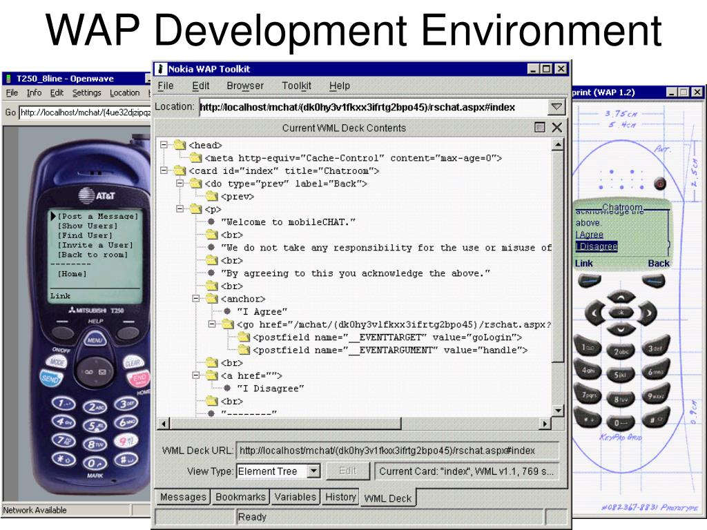 WAP Development Environment
