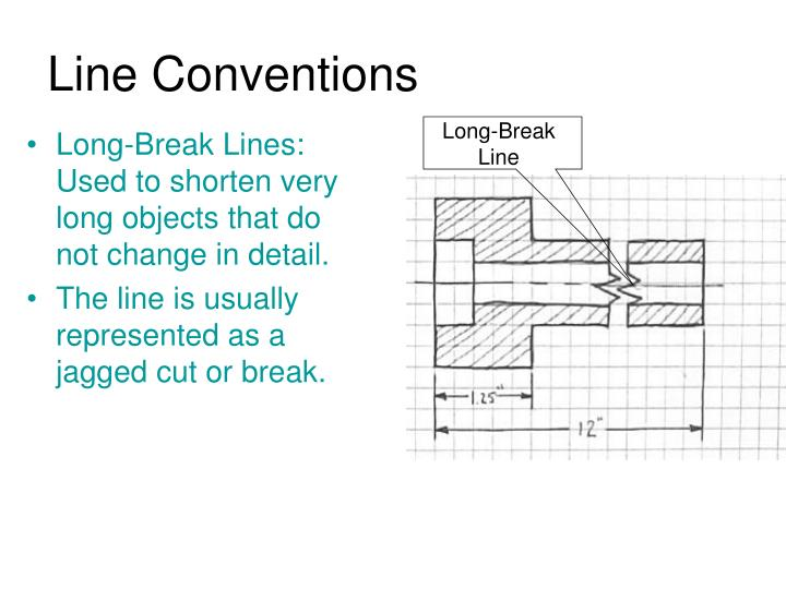 Long-Break Line