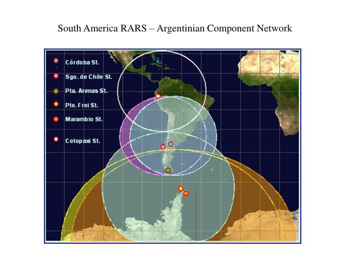 South America RARS –