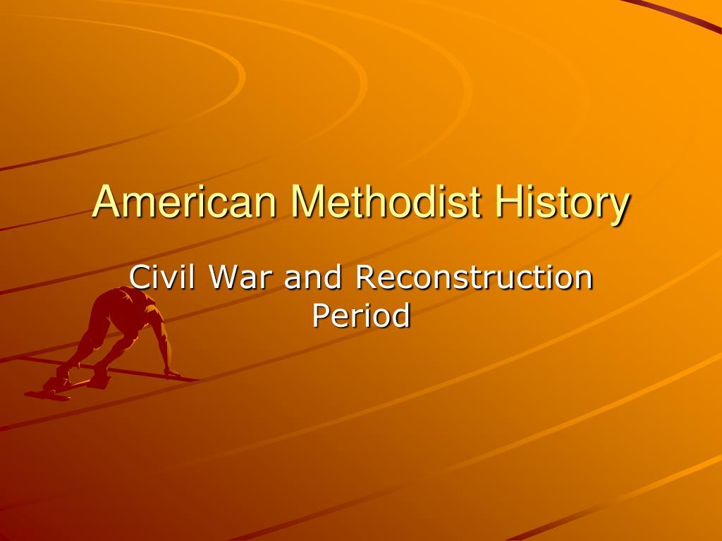 American Methodist History