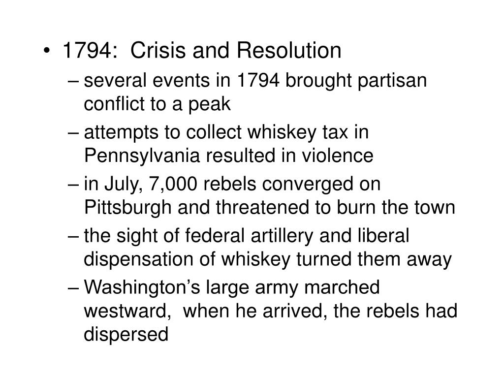 1794:  Crisis and Resolution