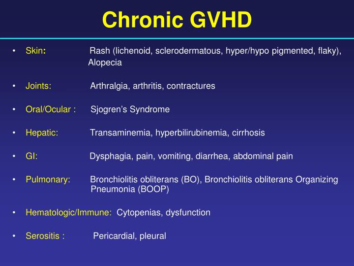 Chronic GVHD