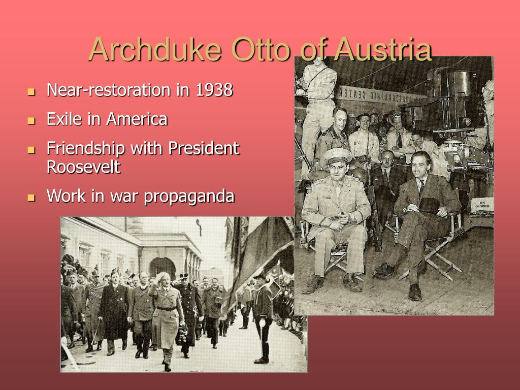 Archduke Otto of Austria