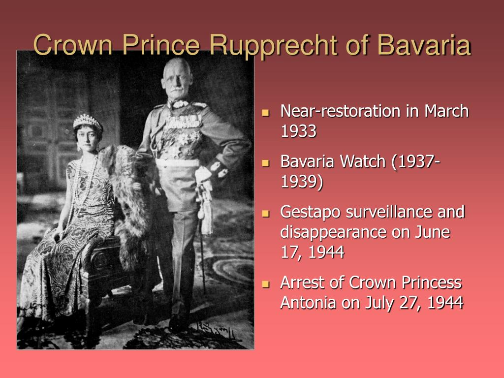 Crown Prince Rupprecht of Bavaria