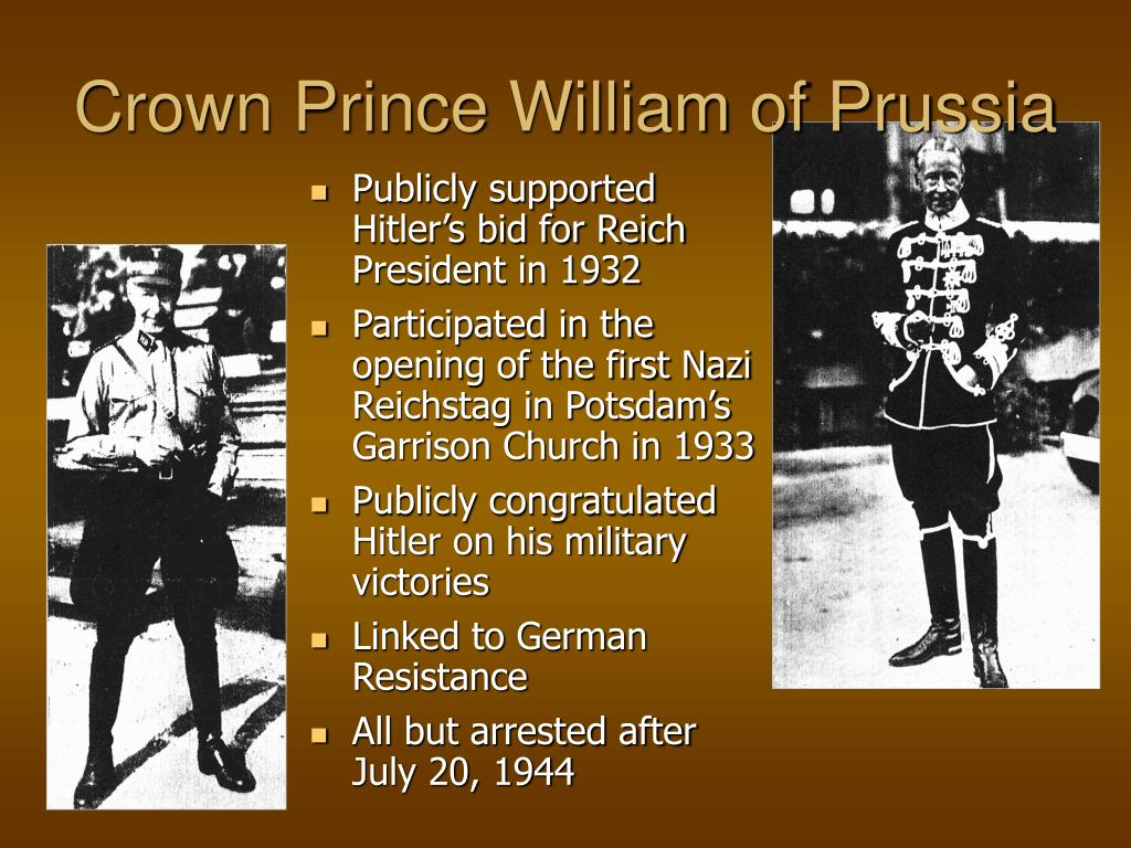 Crown Prince William of Prussia