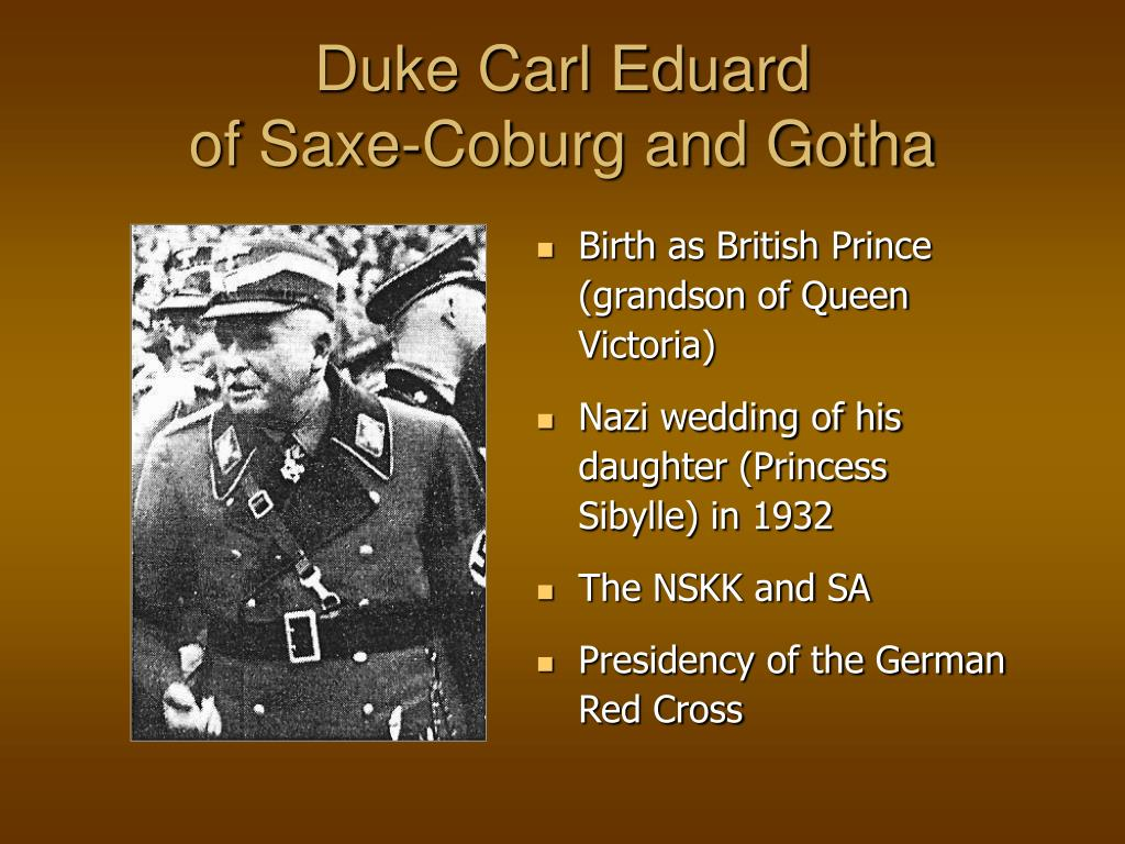 Duke Carl Eduard
