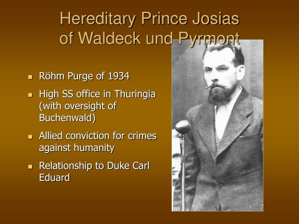 Hereditary Prince Josias