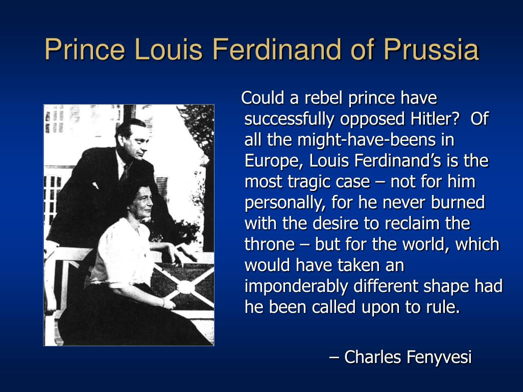Prince Louis Ferdinand of Prussia