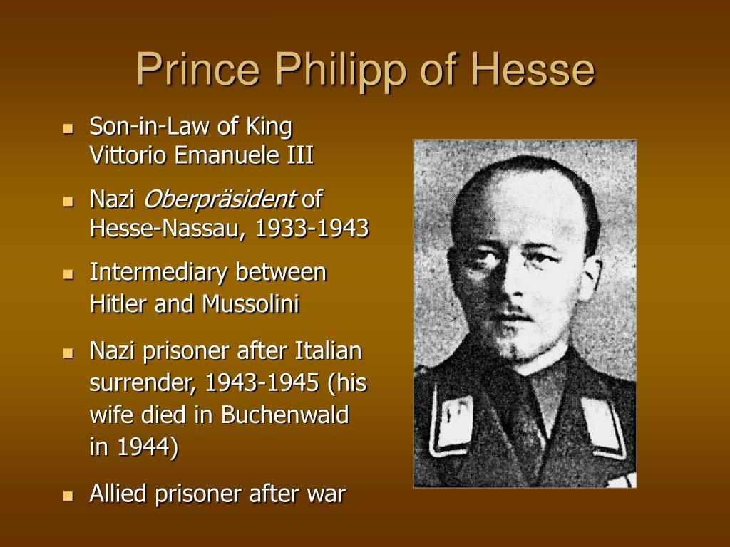 Son-in-Law of King Vittorio Emanuele III