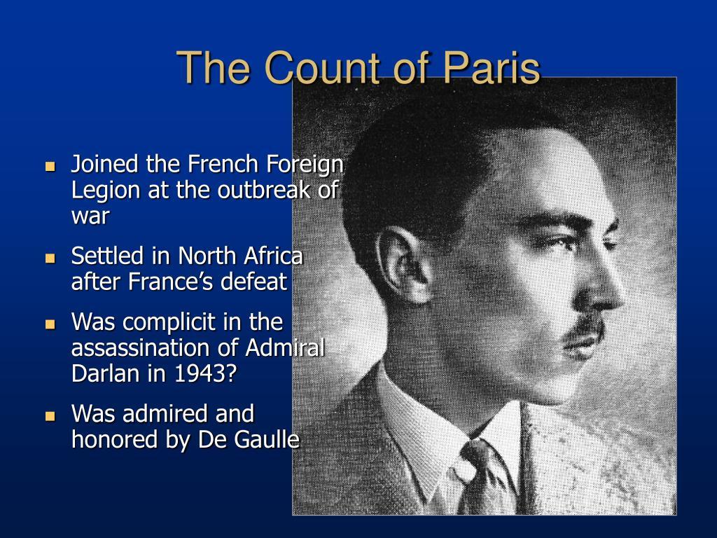 The Count of Paris