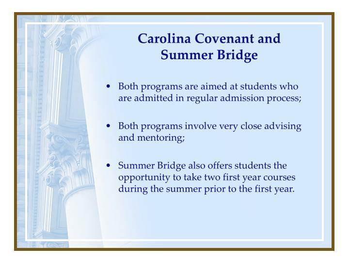 Carolina Covenant and