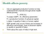 health affects poverty1